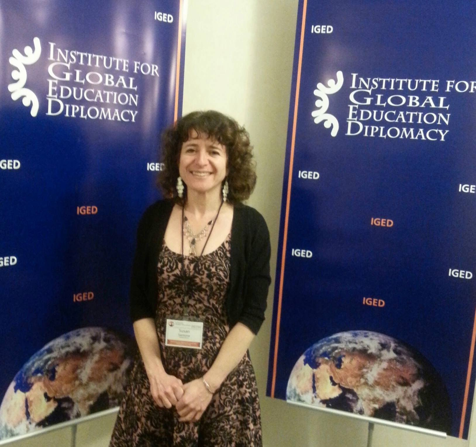 Susan Santone at the Institude for Global Education Diplomacy Conference