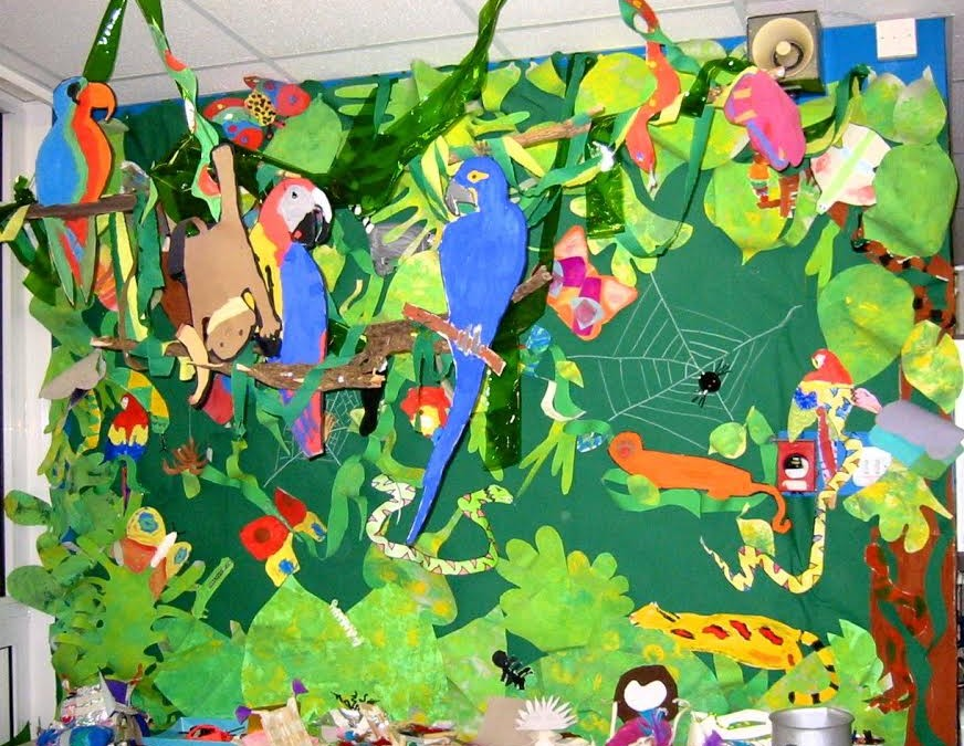 Time To Clear-cut Paper Mache Rainforest