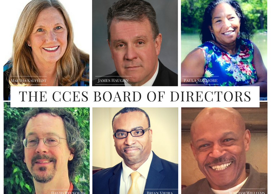 Meet the 2017-2019 CCES Board of Directors
