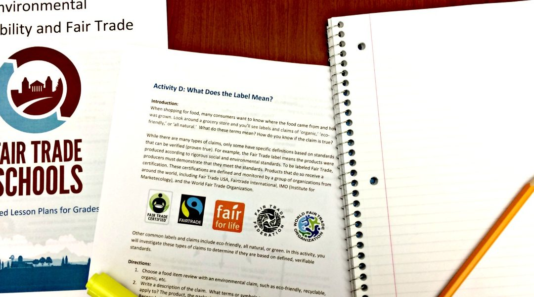 Lesson Plans From Fair Trade Campaigns Introduce Social Studies To Social Justice Creative Change